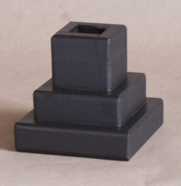 1x1 Pocket, 3 Inch Lift Height, Black Magic