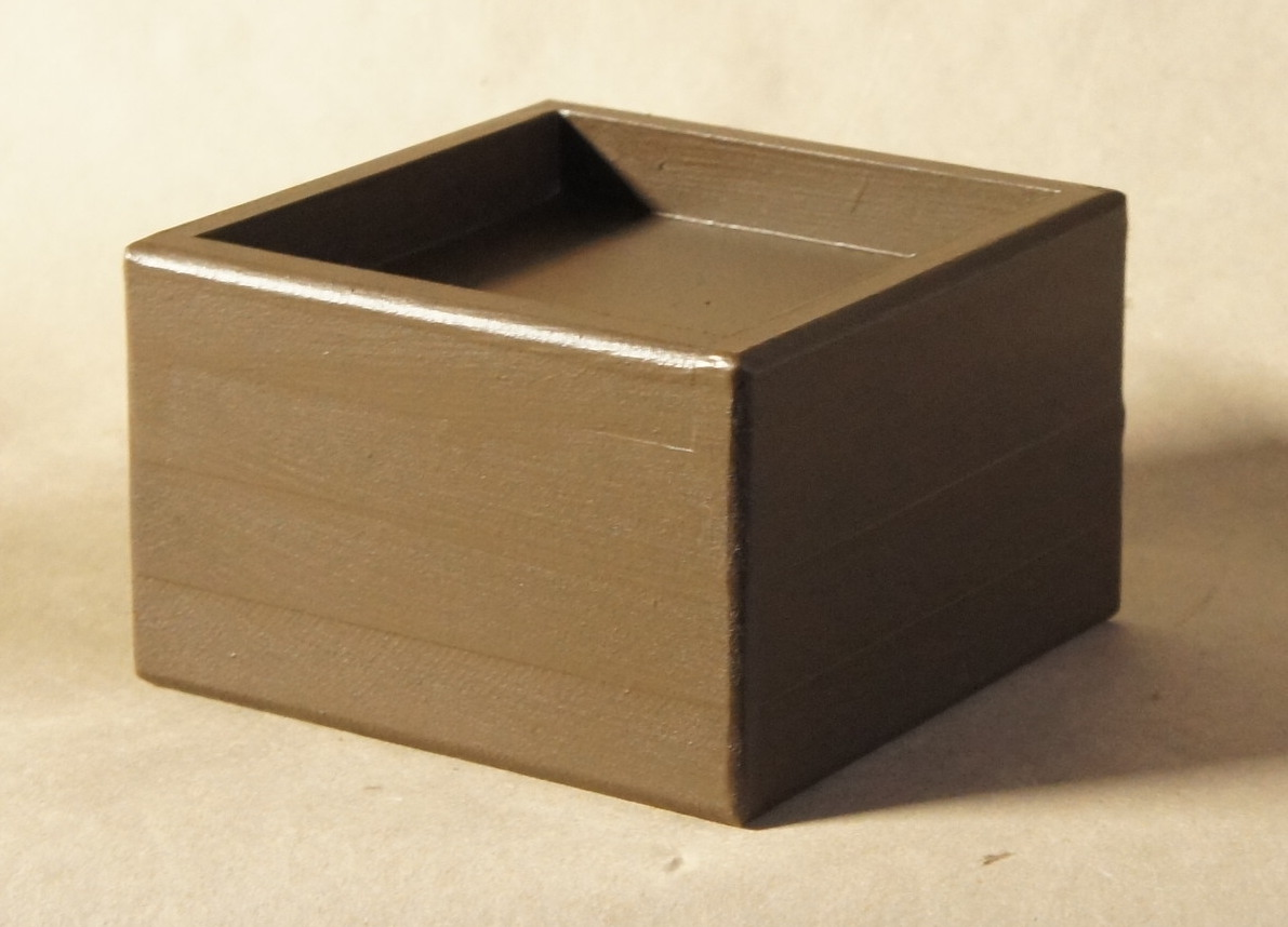 5x5 Pocket, 3 Inch Lift Height, Brown Espresso